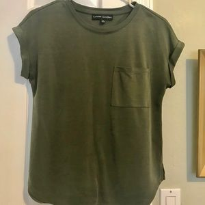Nordstrom Rack Olive green pocket tee